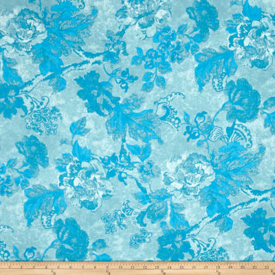 Tracy Porter Ardienne Tonal Floral Blue