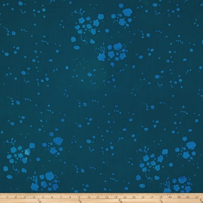 Alison Glass The Blues Batik Splatter Blue