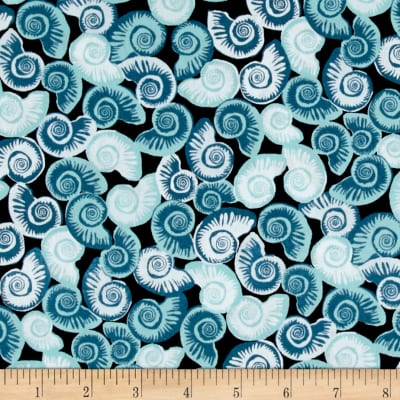 Tides Shells Blue