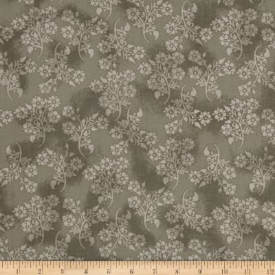 Bombay Floral Bunch Gray