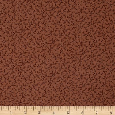 "108"" Wide Quilt Back Emma Vine Rust"