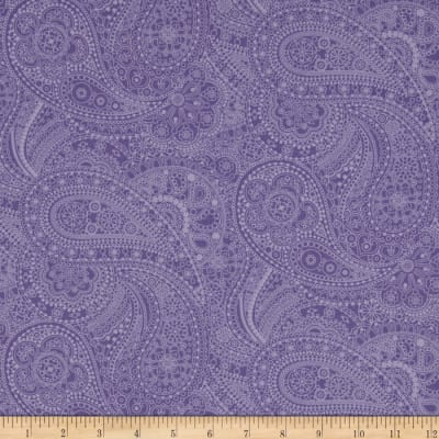 Bonita Paisley Purple