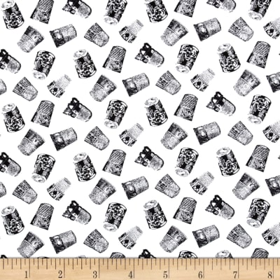 A Stitch in Time Thimbles White