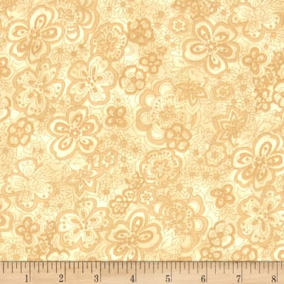 "108"" Wide Quilt Back Isadora Cream"