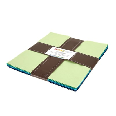 Kaufman Julie Herman Kona Designer Palette Ten Square Multi