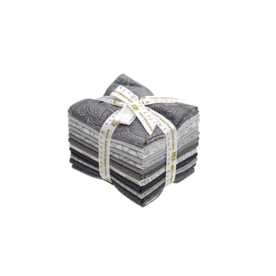 Kaufman Drawn Fat Quarters Pewter