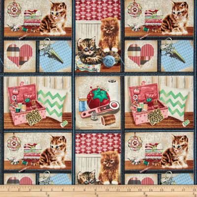 Krafty Kittens Kitten Patch Multi