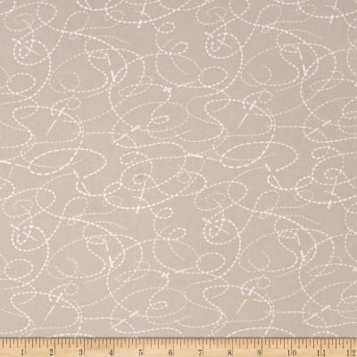Small Talk Needle And Thread Taupe