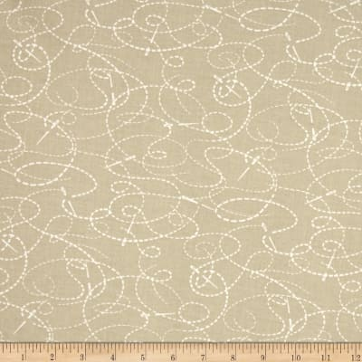 "108"" Wide Quilt Back Needle And Thread Taupe"