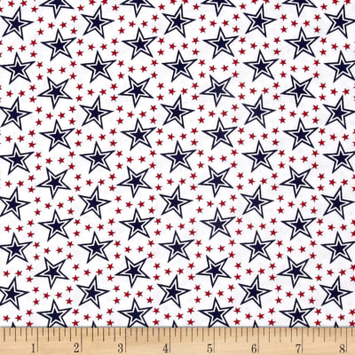 American Anthem Star Circles White