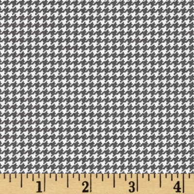 Moda First Crush Houndstooth Concrete