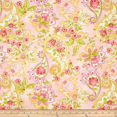 Moda Collette Floral Paisley Rose