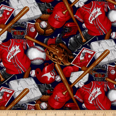 Batter Up! Baseball Accessories Red
