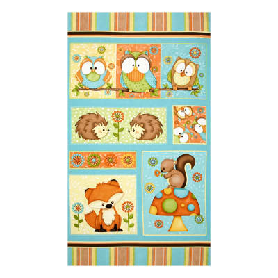 Hoot! Hoot! Hooray! 24 In. Panel Multi