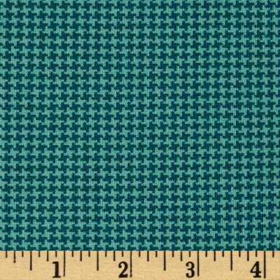 Pet Rescue Houndstooth Teal