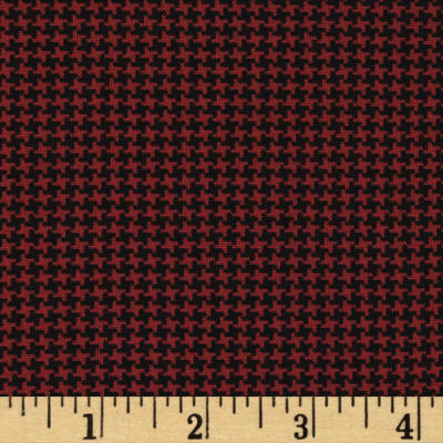 Pet Rescue Houndstooth Red