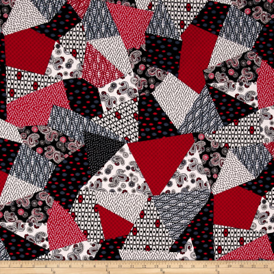 Rendezvous Patchwork Red/Black