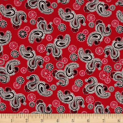 Rendezvous Paisley Red