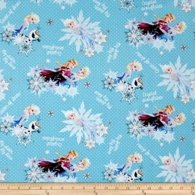 Disney Frozen Crystal Snowflakes Blue