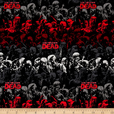 The Walking Dead Zombie Stripe Red