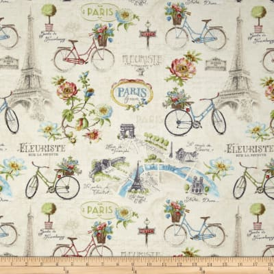 Paris Forever Large All Over Ivory