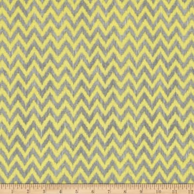 To The Moon & Back Chevron Gray/Yellow