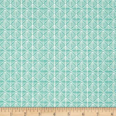 QT Fabrics Wisdom of The Plains Diamond Green