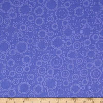 Lazy Little Ladybugs Circle Geometric Purple