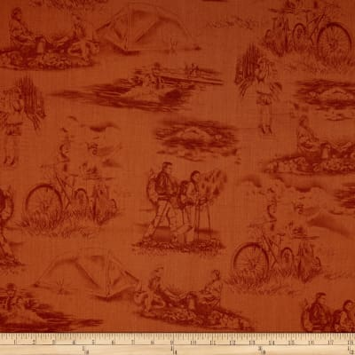 Our National Parks Toile Brown