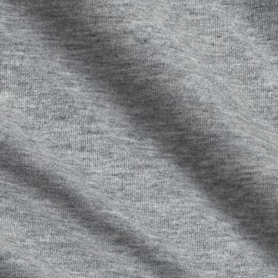 French Terry Knit Overcast Gray