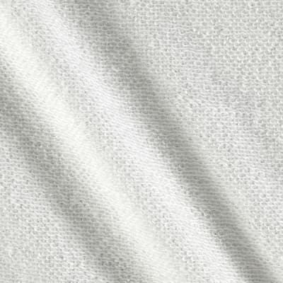 French Terry Knit Textured Eggshell