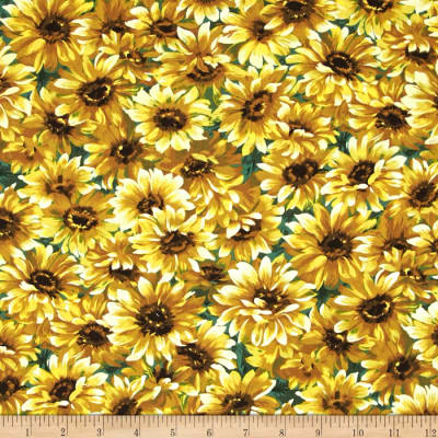 Michael Miller Florals Little Sunflower Sunshine