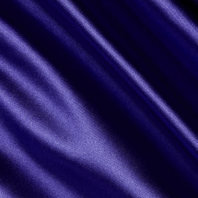 Stretch Satin Royal Purple