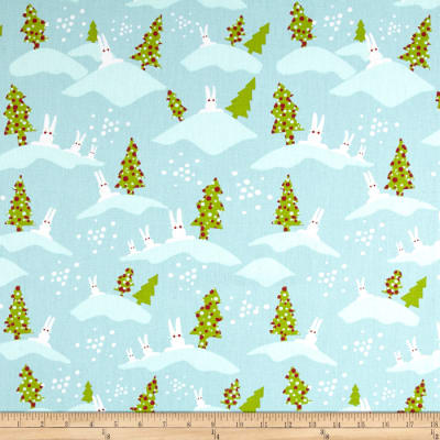 Premier Prints Bunnies Holiday
