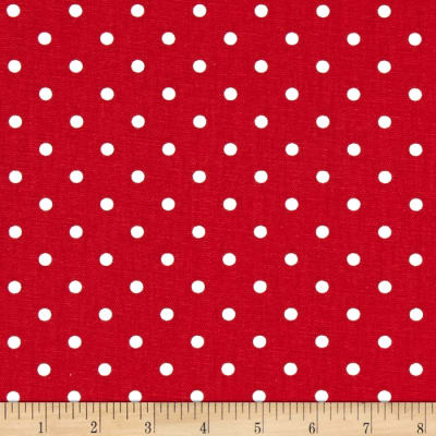 Premier Prints Mini Dots Lipstick/White
