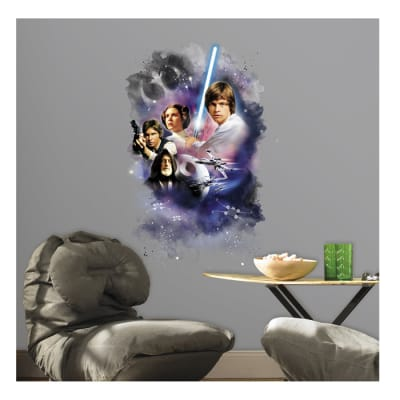Star Wars Classic Hero Cast Wall Decal