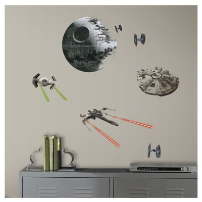 Star Wars Ep VII Spaceships Wall Decal