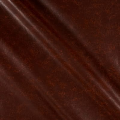 Faux Leather Mahogany