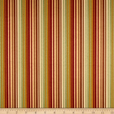 Rayon Stripe Woven Brown/Gold/Cream