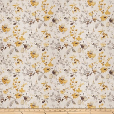 Vern Yip Floral Yellow Grey