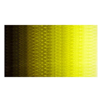 Radiant Gradients Ikat Ombre Chartreuse