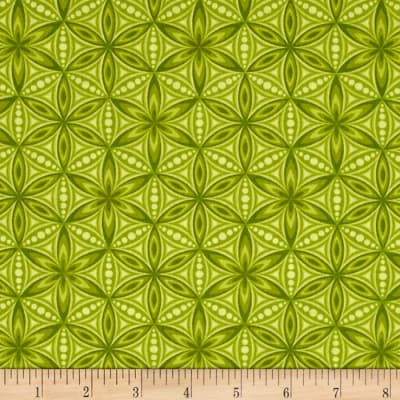 Transformation Flower of Life Green