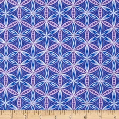 Transformation Flower of Life Grape/Periwinkle