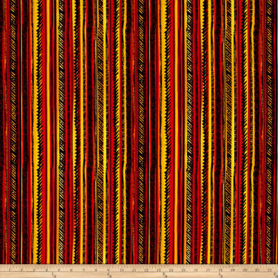 Timeless Treasures African Sunset Stripe Brite