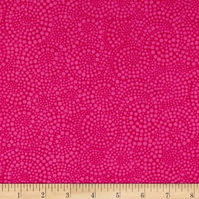 Timeless Treasures Sunkissed Swimmers Flannel Swirl Dot Peony