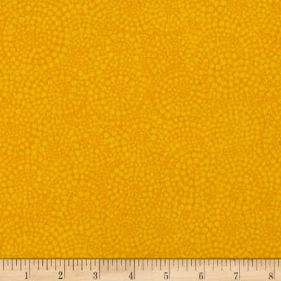 Timeless Treasures Sunkissed Swimmers Flannel Swirl Dot Yellow