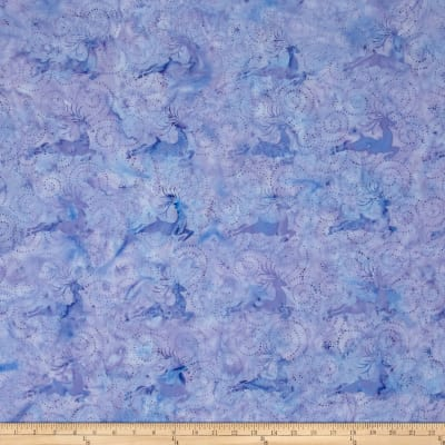 Island Batik Deer Light Purple