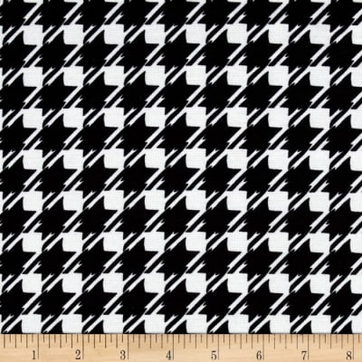 Ponte de Roma Knit Houndstooth Check Black/White