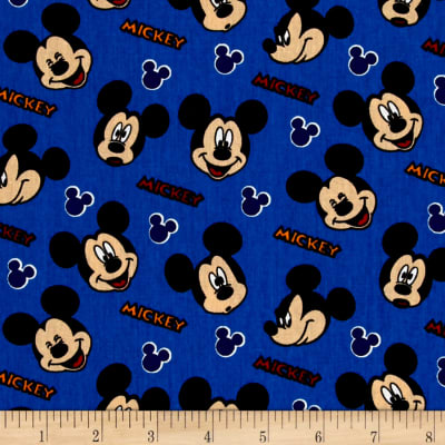 Disney Mickey Traditional Expressions Blue