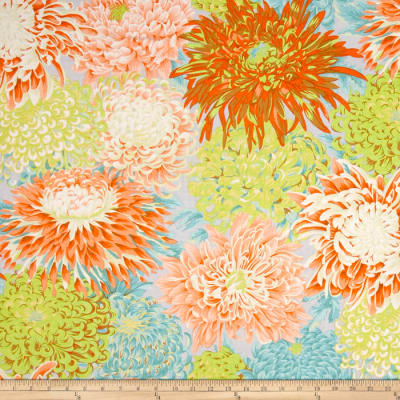 Kaffe Fassett Collective Japanese Chrysanthemum Spring